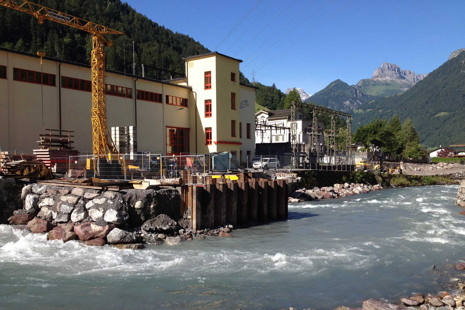 Referenzen, Kanton Glarus, Kraftwerk Föhnen Doppelpower