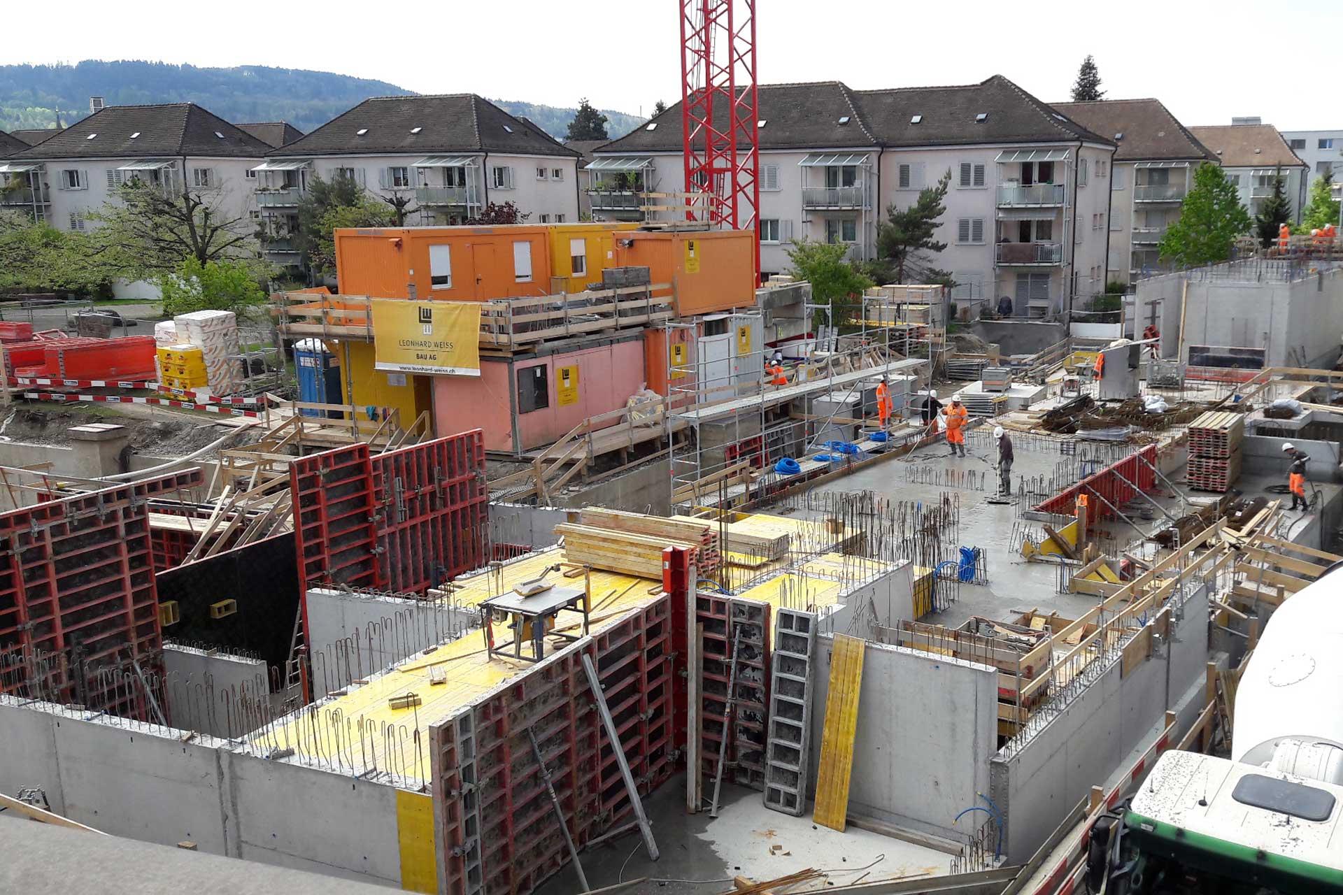 Referenzen, Kanton Zürich, Wohnüberbauung Luggweg