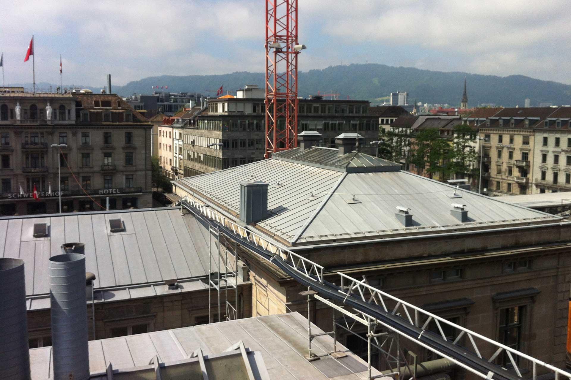 Referenzen, Kanton Zürich, Rail City Südwestflügel Zürich HB